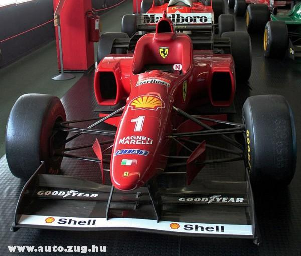 Schumacher 1996-os Ferrarija
