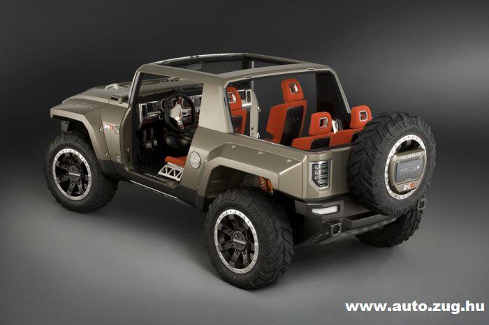 Hummer HX - kétszemélyes luxusterepjáró