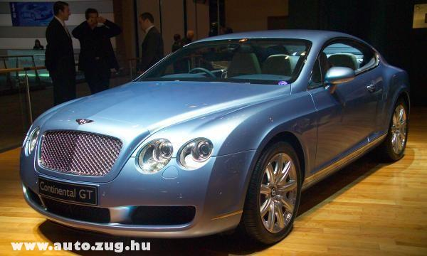 Kék Bentley GT