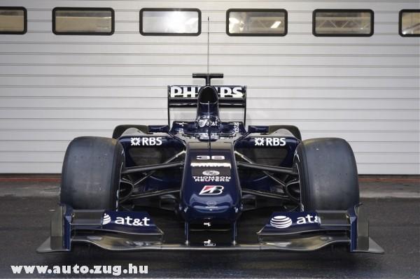 Az új Williams autó