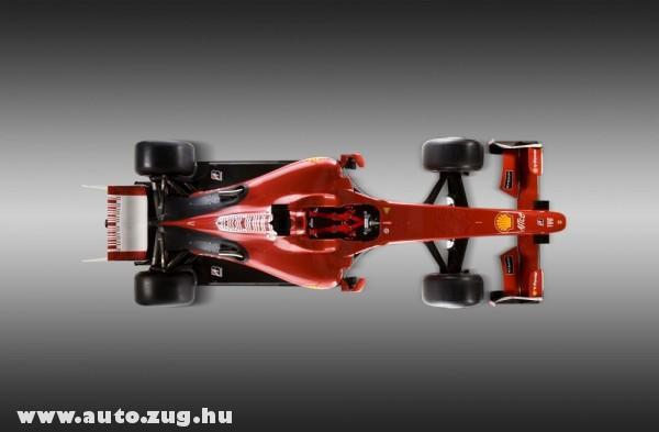Az új Ferrari felülnézetbõl