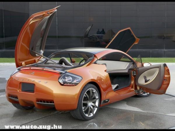 Mitsubishi Eclipse kinyitva