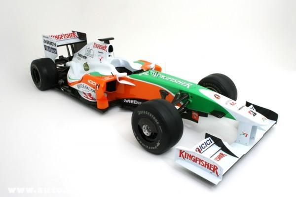 Force India azújdonság varázsa