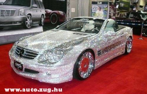 Mercedes Benz SL600 Swarowski