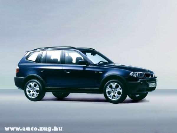 Egy szép X3-as BMW