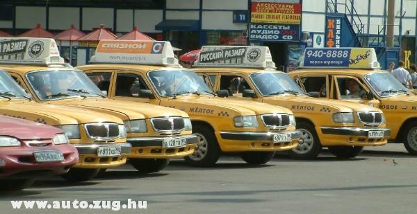 Moszkvai taxik