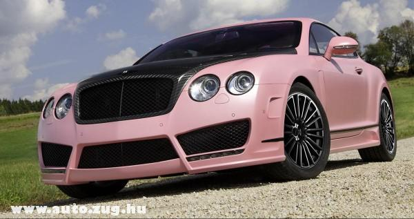 Pink Bentley Continental