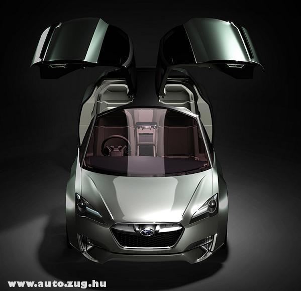 Subaru Hybrid Tourer Large