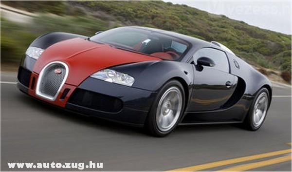 Városban 40 liter benzint fogyaszt, padlógáznál 115-öt a Bugatti Veyron