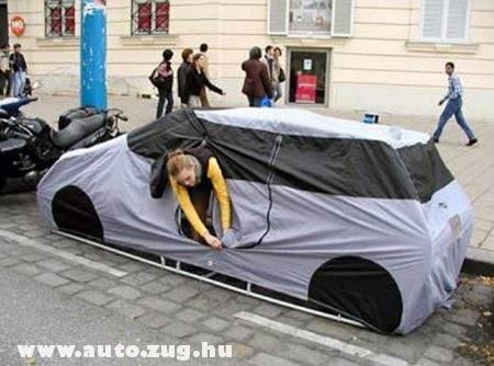 Tuti kis autósátor