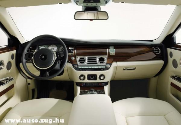 Rolls-Royce Ghost Belseje