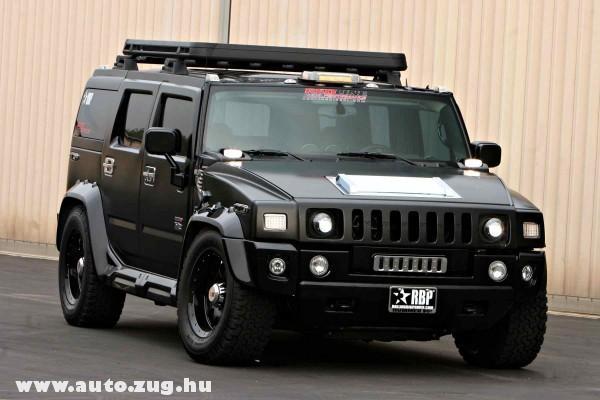 Hummer H2 Balck-Edition