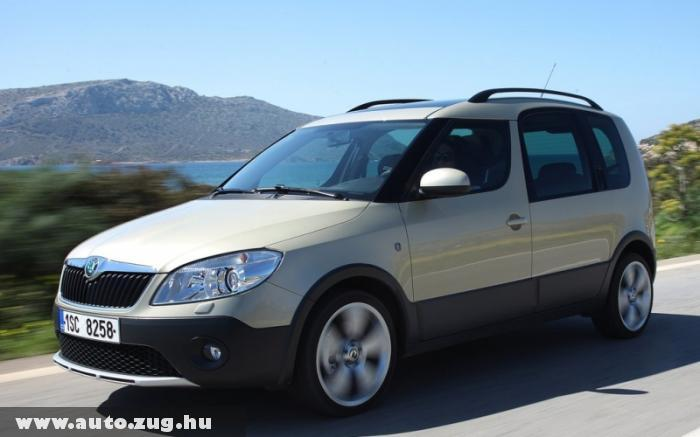 Skoda Roomster Scout 2011