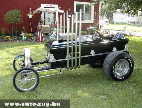 Hulla jó koporsó autó