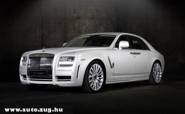 Rolls Royce, White Ghost limitált szériás modellje