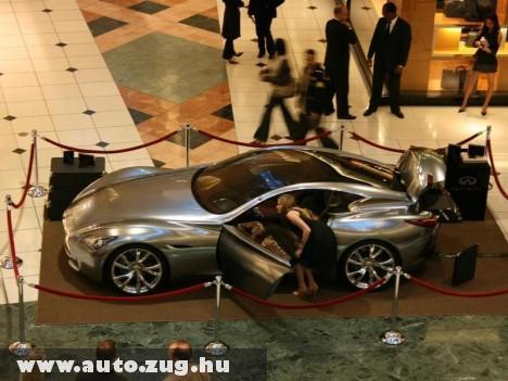 Infiniti bemutató Louis Vuitton szalonjában
