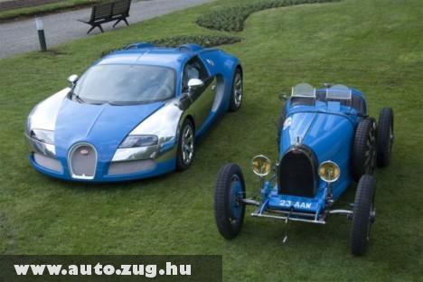 2 Bugatti, 2 generáció