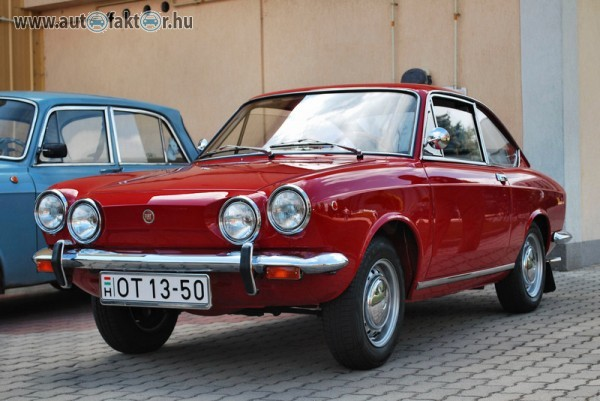 Fiat 850 Sport Coupe :)