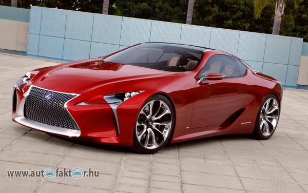 Lexus LF LC Hybrid Sport Coupe