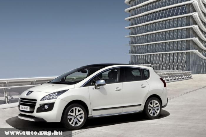 Peugeot 3008 Hybrid4 - 3,8 literes fogyasztással