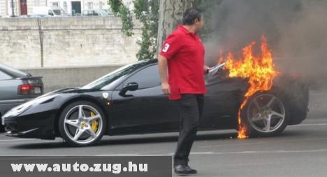 Kigyulladt a Ferrarim!!!!