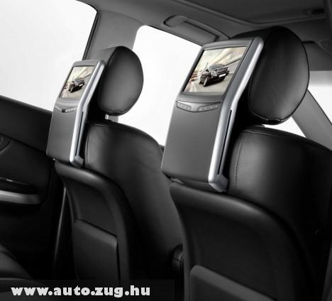 Dvd lejátszó a Lexus hátsó utasainak