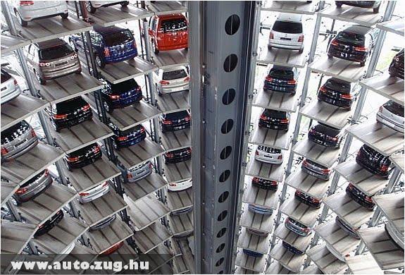 Parkolóház belülrõl