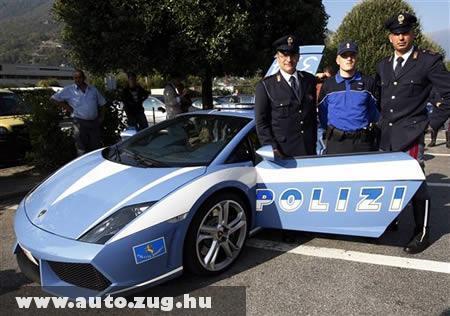 Lamborghini rendõrautó