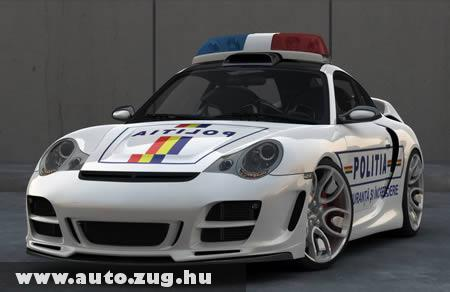 Porsche rendõrautó