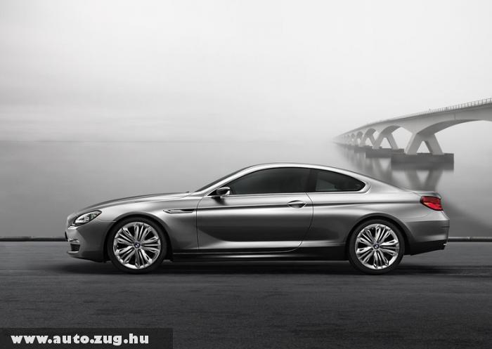 BMW 6-os kupé - formás járgány