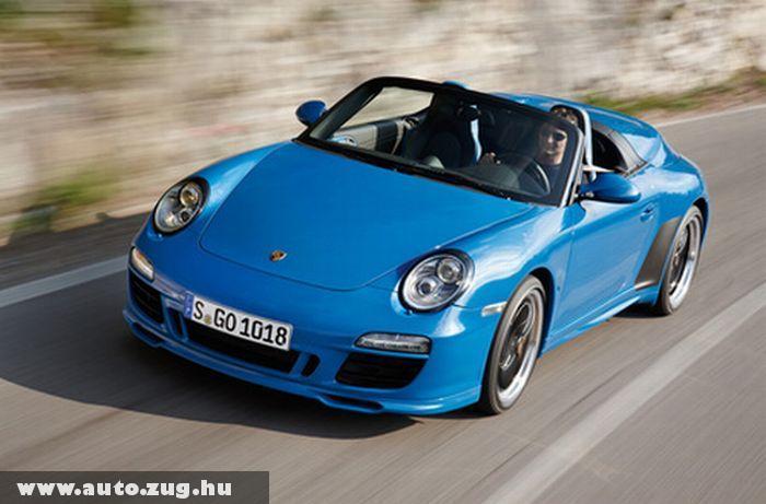 Porsche 911 Speedster - limitált szériás