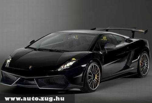 Lamborghini Gallardo LP 570-4 Blancpain Edition - 570 lóerõvel