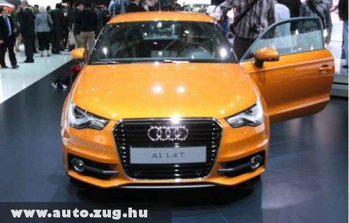 Audi A1 1.4 TFSI - két feltöltõs