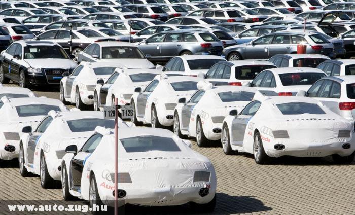 Audik eladásra várva