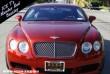 Vörös Bentley Continental GT