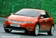 Piros Honda Civic