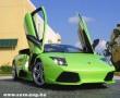 Zöld Lamborghini Murcielago